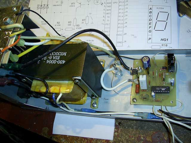 автомобильное зарядное устройство на тиристоре т - Схемы.